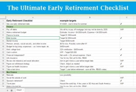 The Ultimate Early Retirement Checklist thumbnail