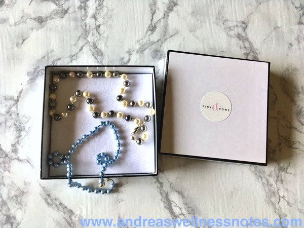 Pink  Rowe Pearl Necklaces