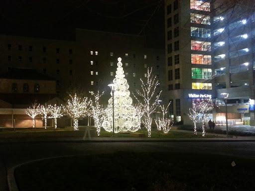 miami valley hospital mvh in dayton ohio getting us into the holiday spiri - Christmas Lights In Dayton Ohio