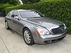 2007 Maybach 57 28,500 miles Rear tables & entertainment & Refrigerator Mint!!