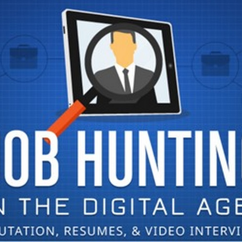 INFOGRAPHIC: JOB HUNTING IN THE DIGITAL AGE