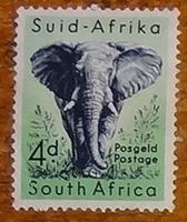 timbre Afrique du Sud 001