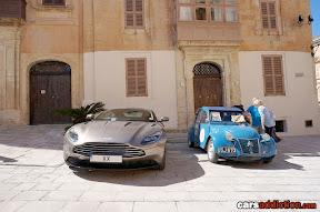 New Aston vs Classic Citroen