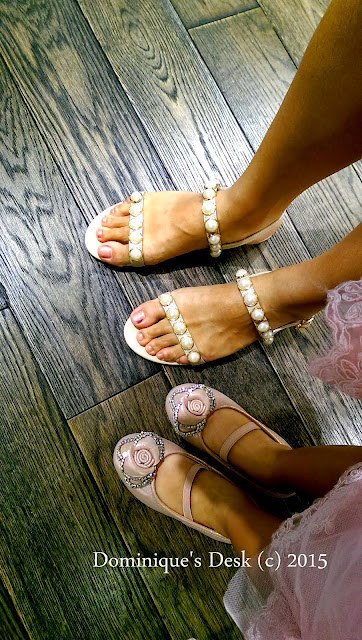 Shopping for shoes with Tiger girl