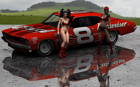 Dale Earnhardt Jr Chevy Chevelle Wallpaper