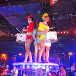 Japanese girls & drums at the Robot Restaurant in Kabukicho in Kabukicho, Tokyo, Japan