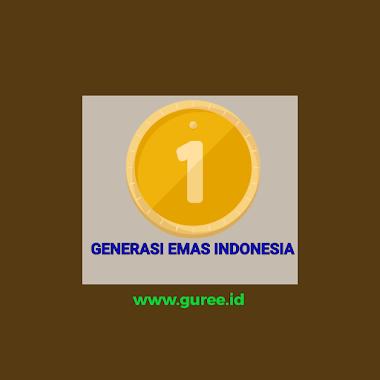 GENERASI EMAS INDONESIA DAN TANTANGAN DUNIA PENDIDIKAN