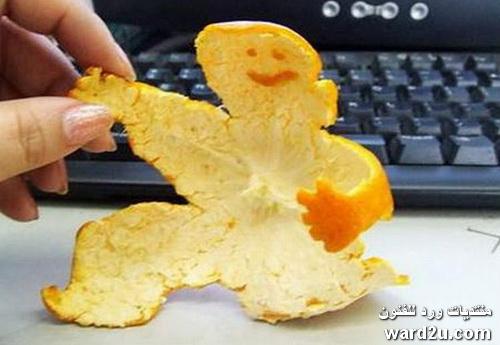 التشكيل بقشر البرتقال