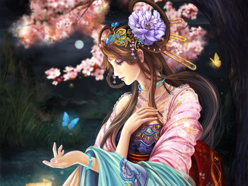 Goddess Of Nature, Goddesses