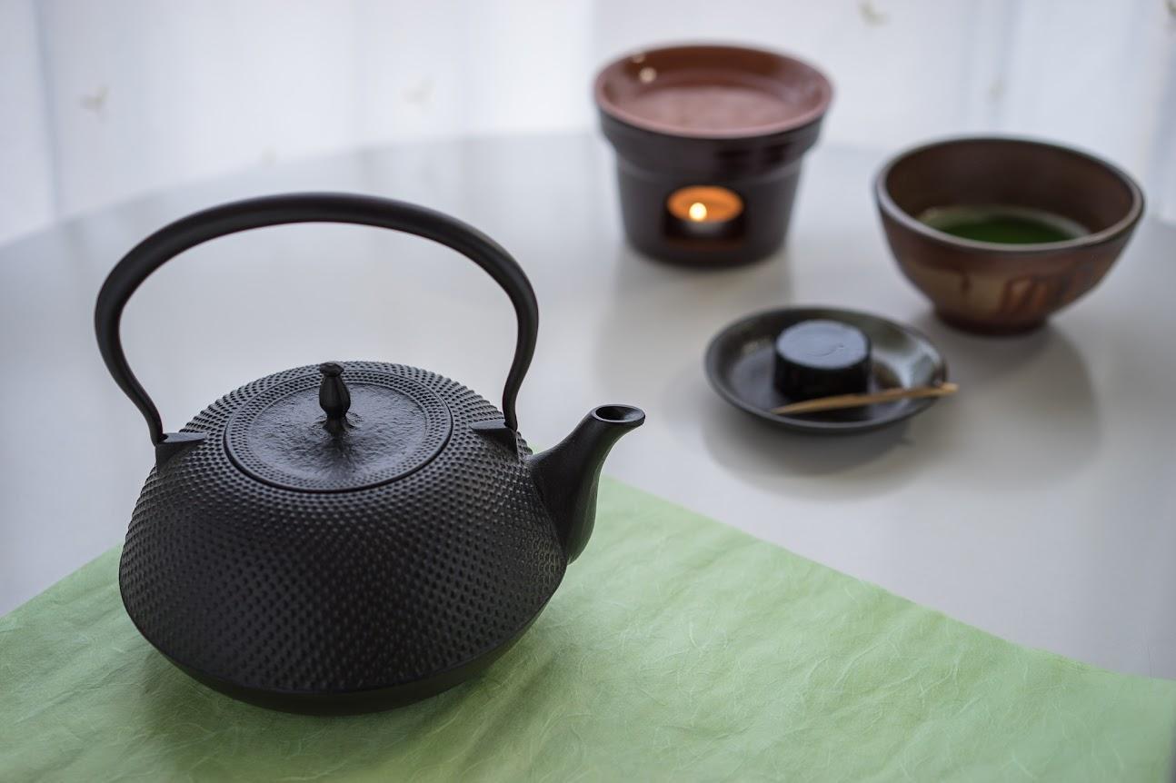 おうちで、一服「抹茶と和菓子」