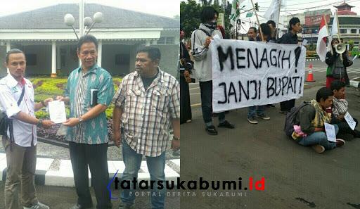 Tagih Janji Bupati Sukabumi, Inilah 5 Tuntutan Aksi Mahasiswa