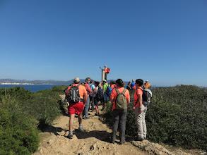 Photo: Hito geodédico de la Punta de n'Amer