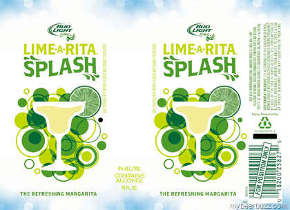 Here S Your First K At A Lighter Take On The Rita Family Of Beverages From Bud Light This Lime Splash And It Is Regular