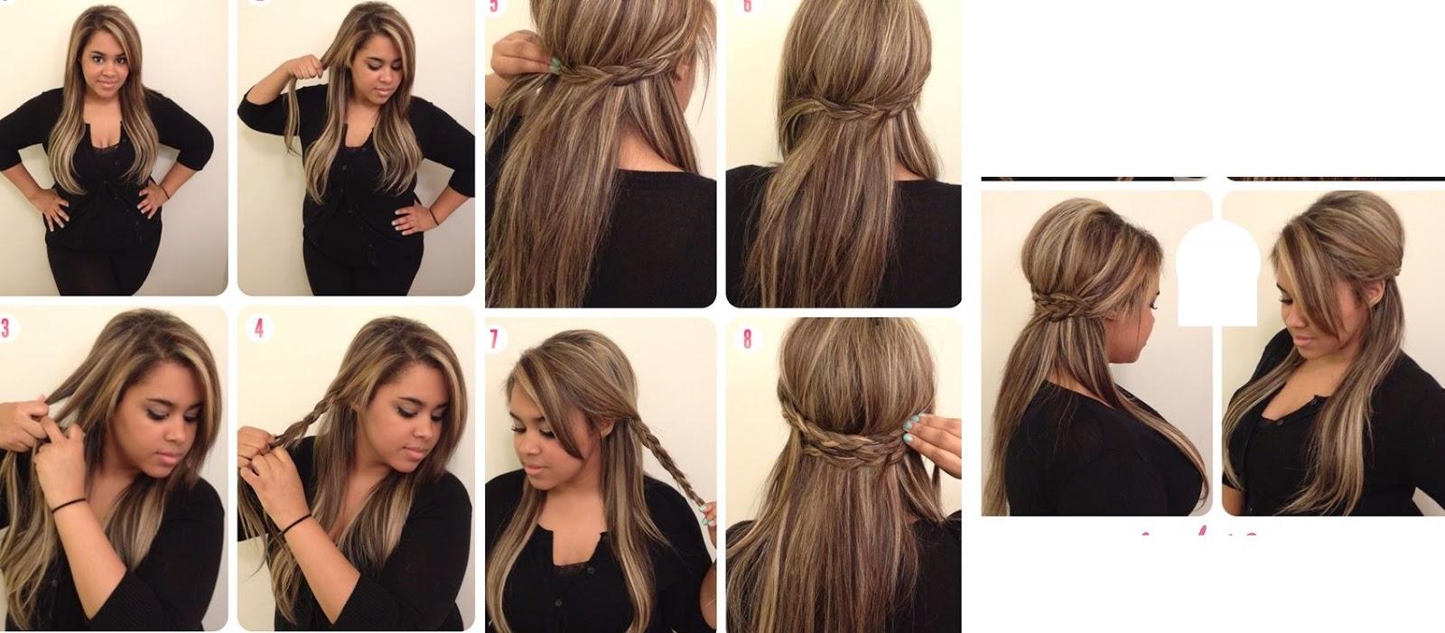 Cómo conseguir un como hacer peinados Fotos de cortes de pelo estilo - Como Hacer Peinados Casuales Paso A Paso