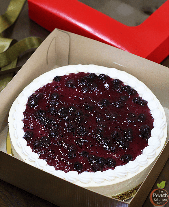 Pellegrino's No-Bake Blueberry Cheesecake