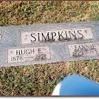 Hugh E. & Fannie F. Williams Simpkins