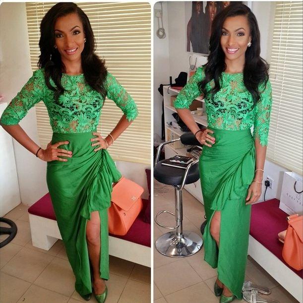 aso ebi fashion green styles 2016
