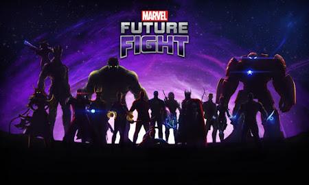 Marvel Future Fight - Tela de carregamento