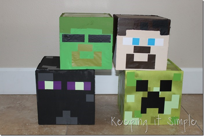 Diy Minecraft Costumes Creeper Steve And Zombie Costume Keeping