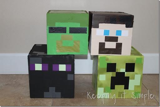Diy Minecraft Valentine Box Reviews Ideas