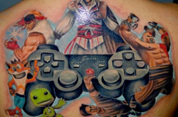 35 Video Game Tattoos Any Gamer Would Want