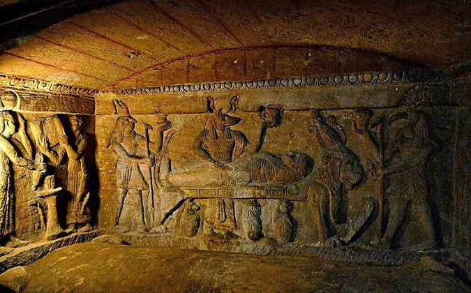 Catacumbas subterrâneas de Alexandria 05