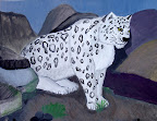 Snow Leopard by Victoria