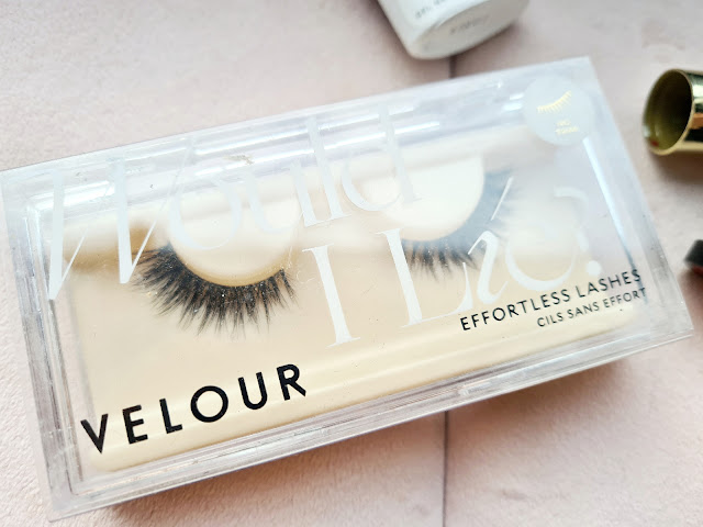 Velour Effortless lashes 'Would I Lie To You?' review
