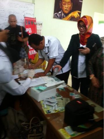 Komitmen Perangi Narkoba, Anggota Dewan dan Fungsionaris PKB JalaniTest Urine