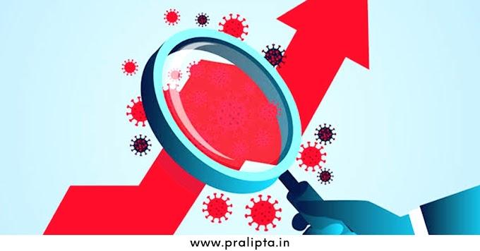 ৪৭% বৃদ্ধি দেশের সংক্রমন, ৫৪% বৃদ্ধি দৈনিক মৃত্যু - Pralipta