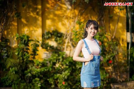 Girl xinh toa nắng