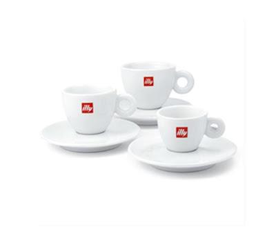 Klassieke koffietassen van Illy