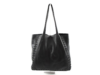 Milly Irving Black Pebbled Leather Tote