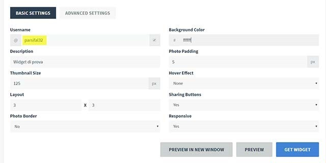 configurazione-widget