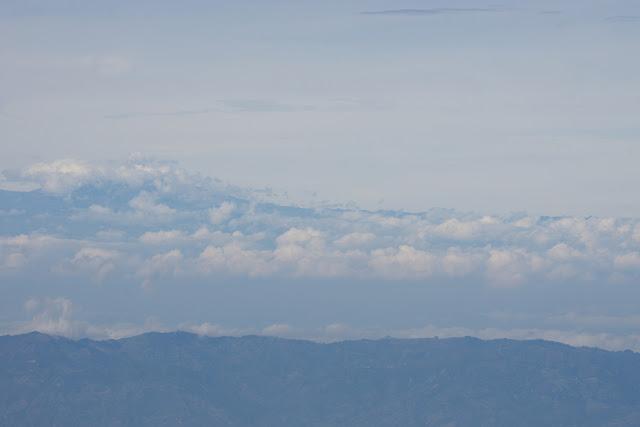 Le Nevado del Ruiz (5 321 m) depuis le Cerro del Tablazo (3480 m) (Subachoque, Cundinamarca, Colombie), 13 novembre 2015. Photo : J.-M. Gayman