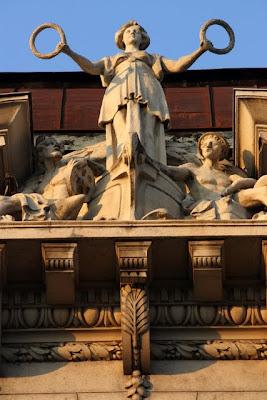 Building in Belgrade Serbia
