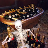 champagne death at PONG, Taipei in Taipei, T'ai-pei county, Taiwan
