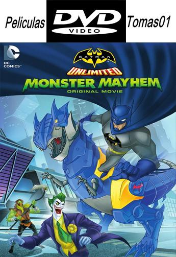 Batman Sin Limites Caos Monstruoso (2015) DVDRip
