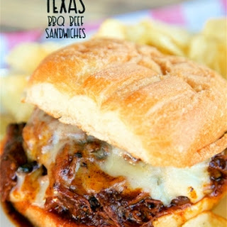 Slow Cooker Texas BBQ Beef Sandwiches.