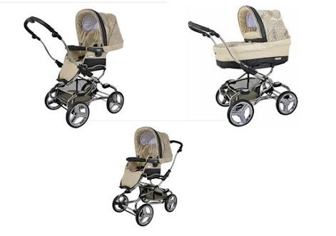 Comfortable baby pram