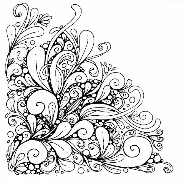 Abstract Coloring Pages For Girls Difficult