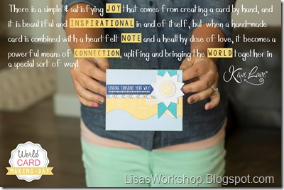 World Cardmaking Day 2016 - Lisa's Workshop