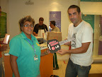 Carla Pereira de Oliveira ( Vendedora ) - NCX Shopping Bangu - Moto Honda CG 125