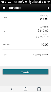 Pantex FCU Mobile App- screenshot thumbnail