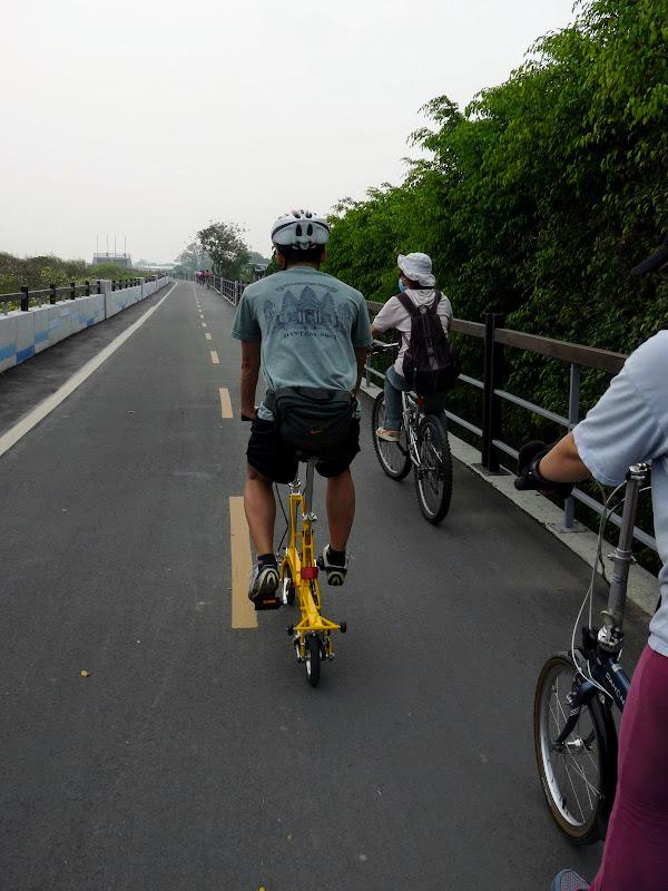 TAIWAN. Taipei .En vélo de Guandu MRT à Bali et retour à Danshuei en bateau - P1160424.JPG