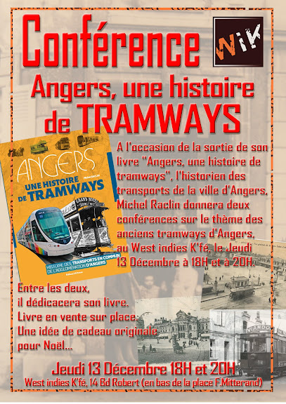Angers - 13 décembre Angers, conférence histoire du tramway Conference122012