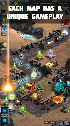 Ancient Planet Tower Defense Offline 1.1.44 screenshots 2