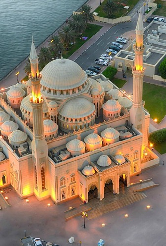 Noor Mosque, Sharjah,