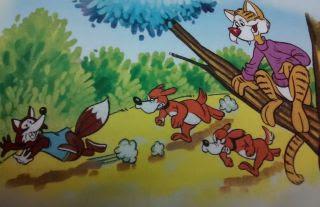 El gato y la raposa
