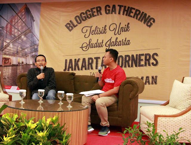 Telisik Unik Sudut Jakarta bersama Teguh Sudarisman